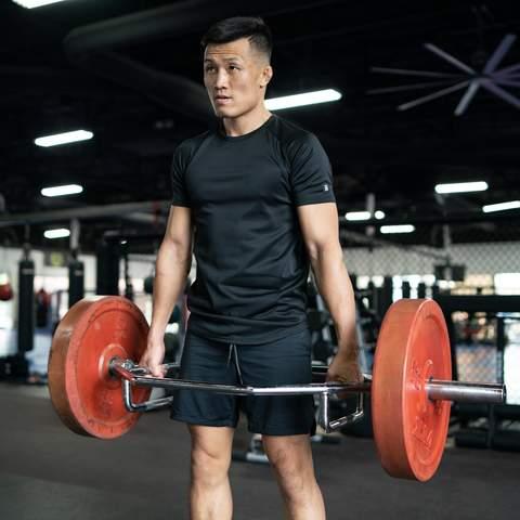 Korean Zombie In Born Tough Workout Wear