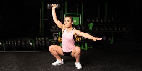 Cardio and leg workout