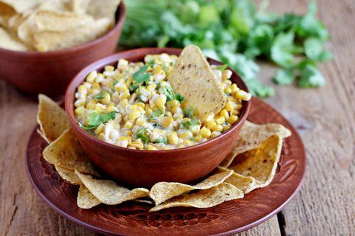 Creamy corn dip