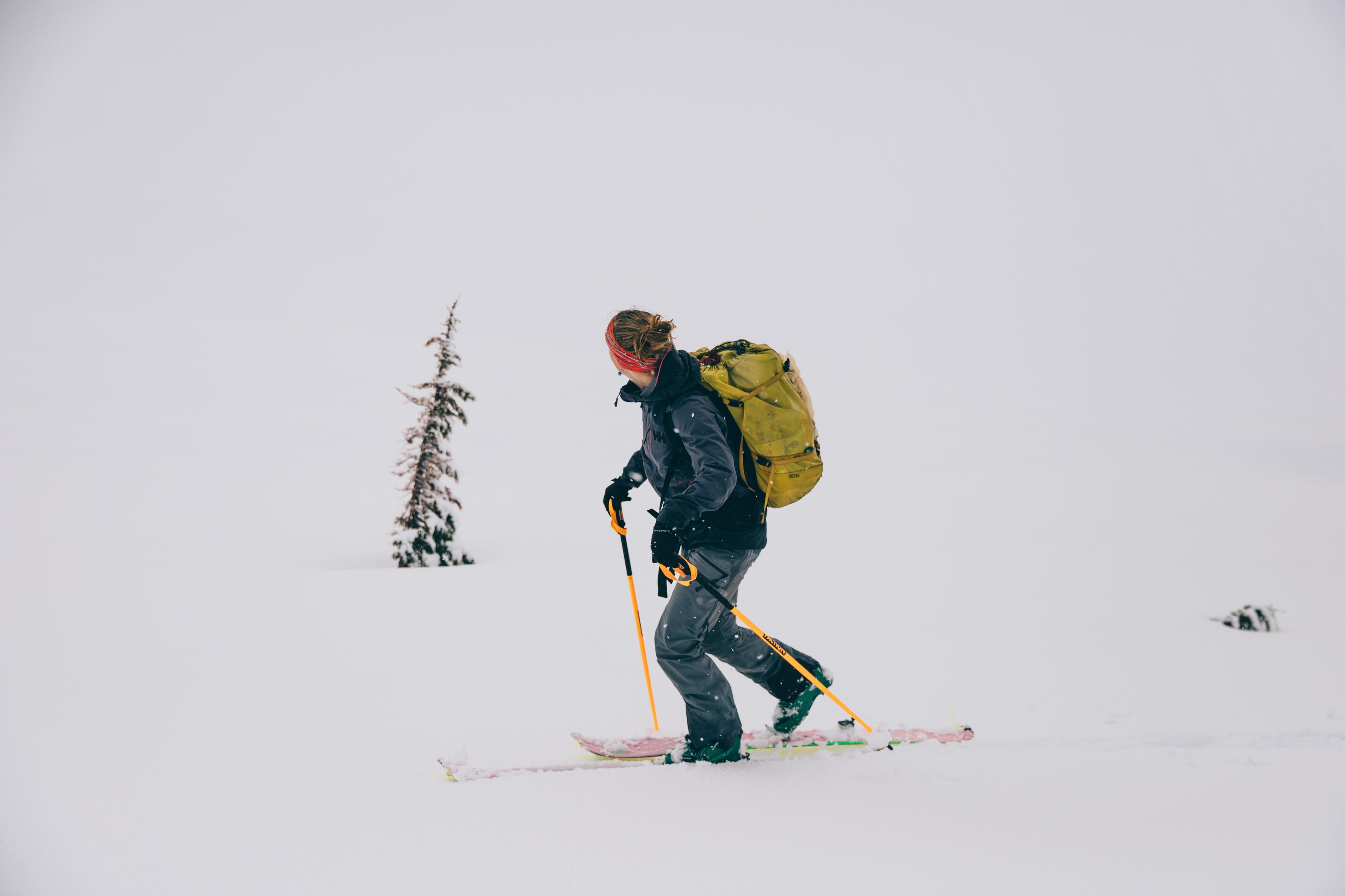Skiing at last