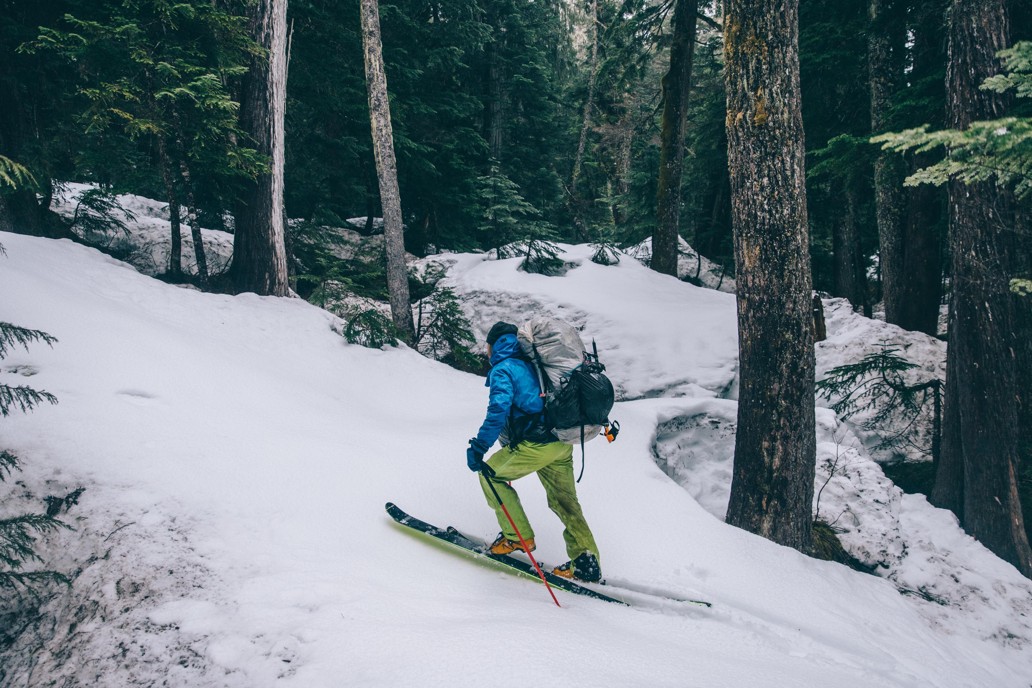 The ski begins