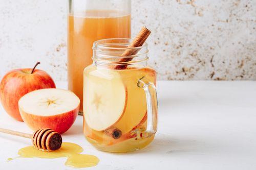 Ginger and apple cider vinegar soother