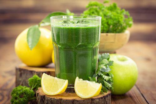Immune boosting green juice