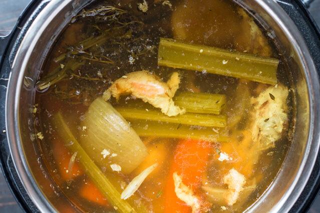 instant pot chicken bone broth recipe
