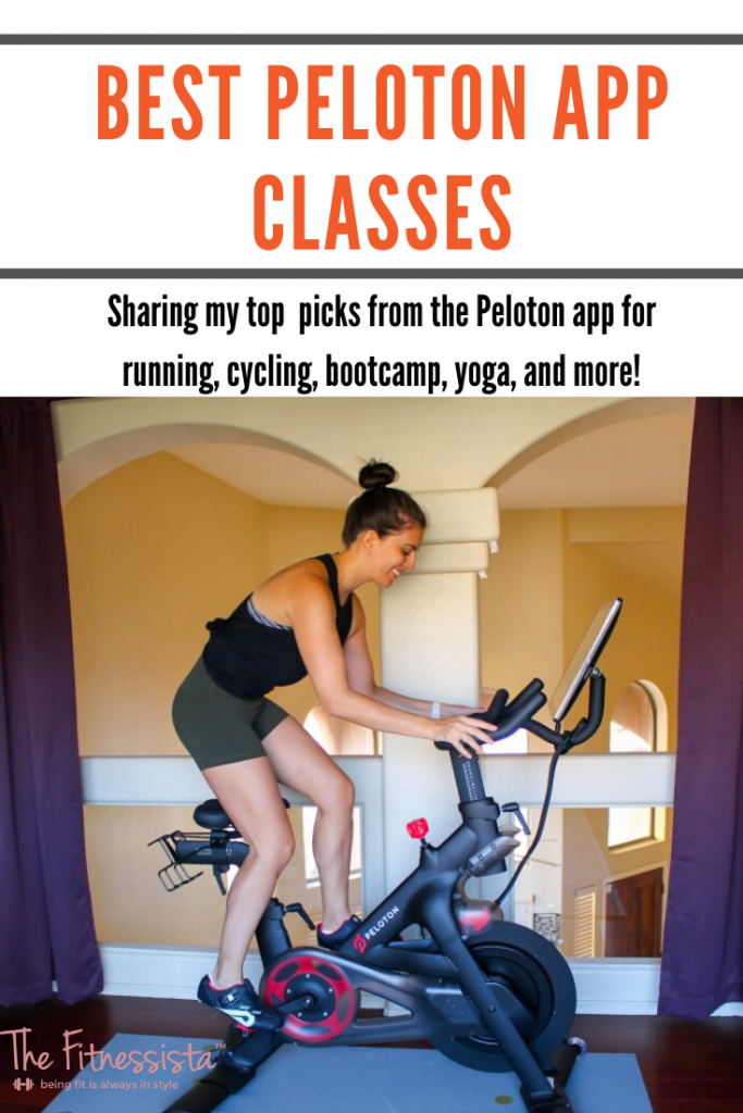 Sharing the best classes from the Peloton app! fitnessista.com