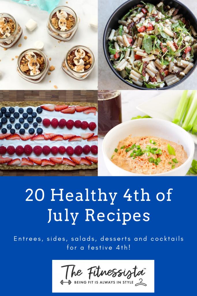 Healthy 4th of July recipes. fitnessista.com