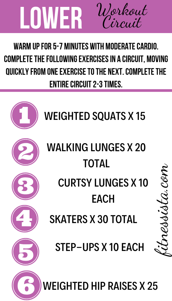 Lower body workout for runners