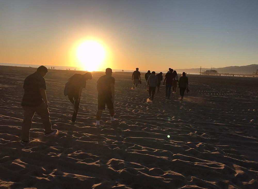 Stoked Mentoring beach program