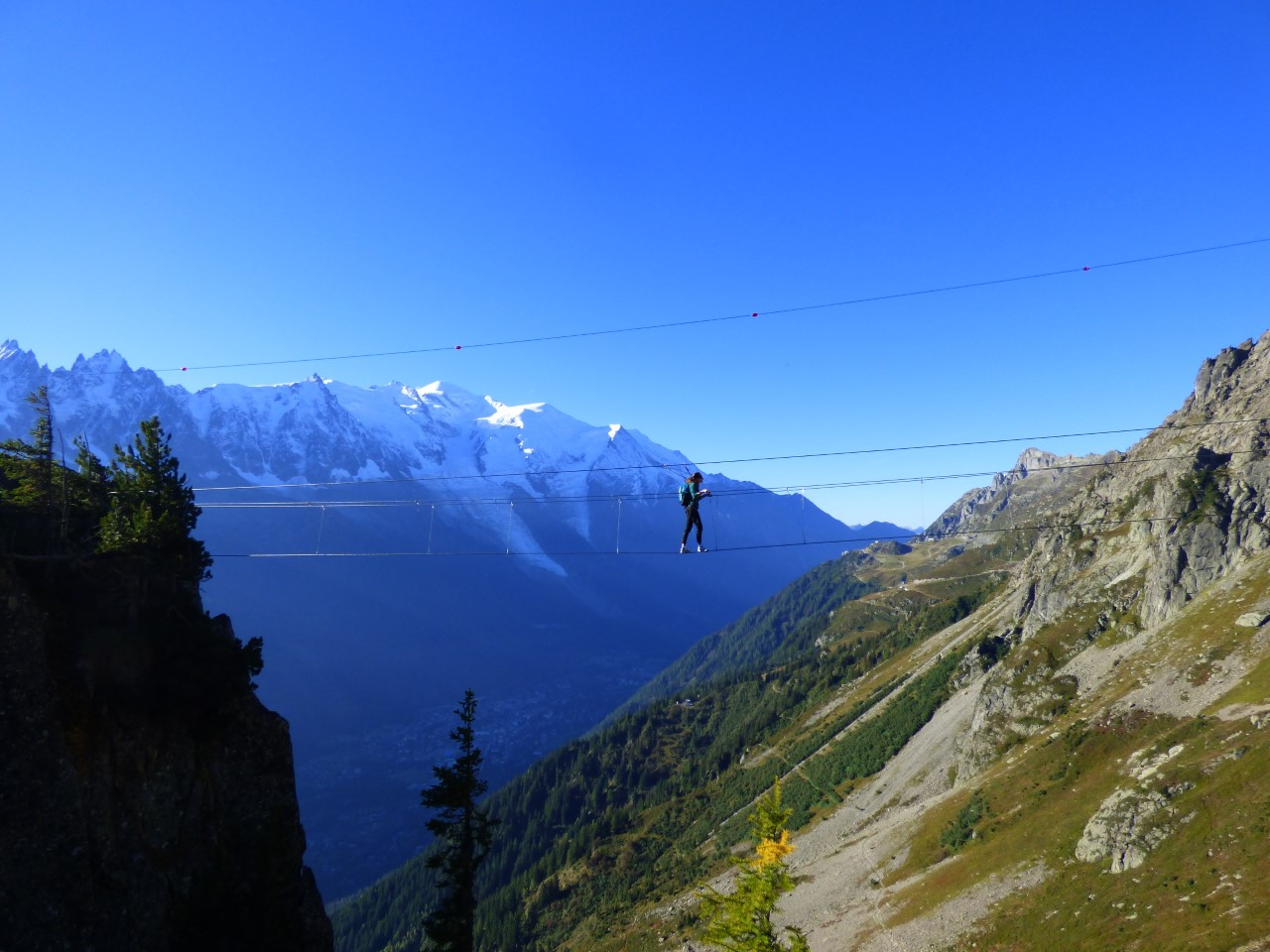 Chamonix France via ferrata