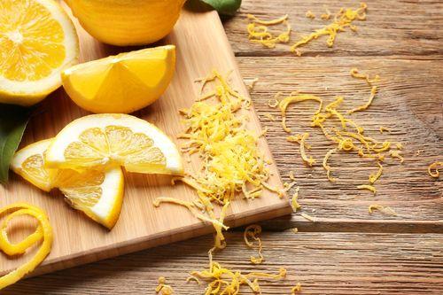 Lemon: Pulp + Zest