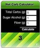 net carb calculator