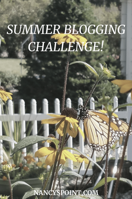 You're invited to participate in my #summer #blogging challenge! #blog #bloggers #bloggerstribe #writinglife