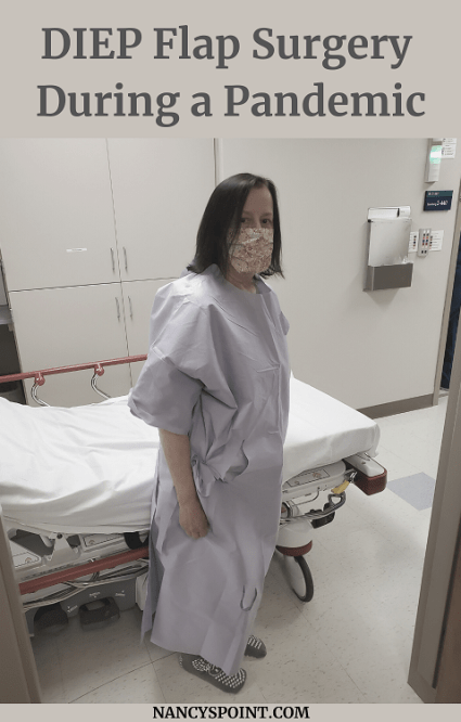 #DIEP Flap Surgery During a #Pandemic - Is is safe? #breastcancer #breastreconstruction #surgery #womenshealth #mastectomy #cancersucks #keepingitreal