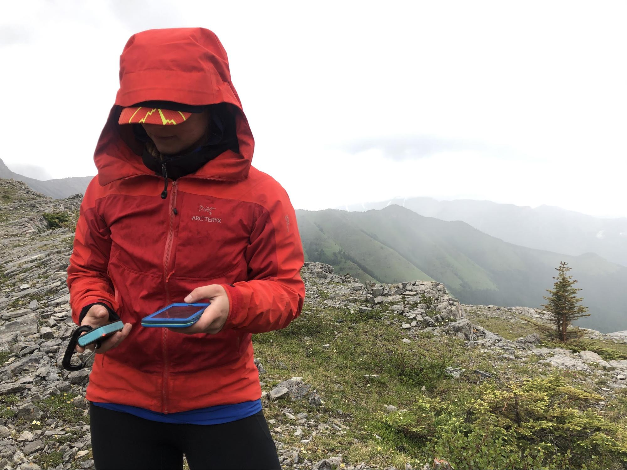 Bivy Stick Blue Satellite Communicator Device for Backcountry Travel