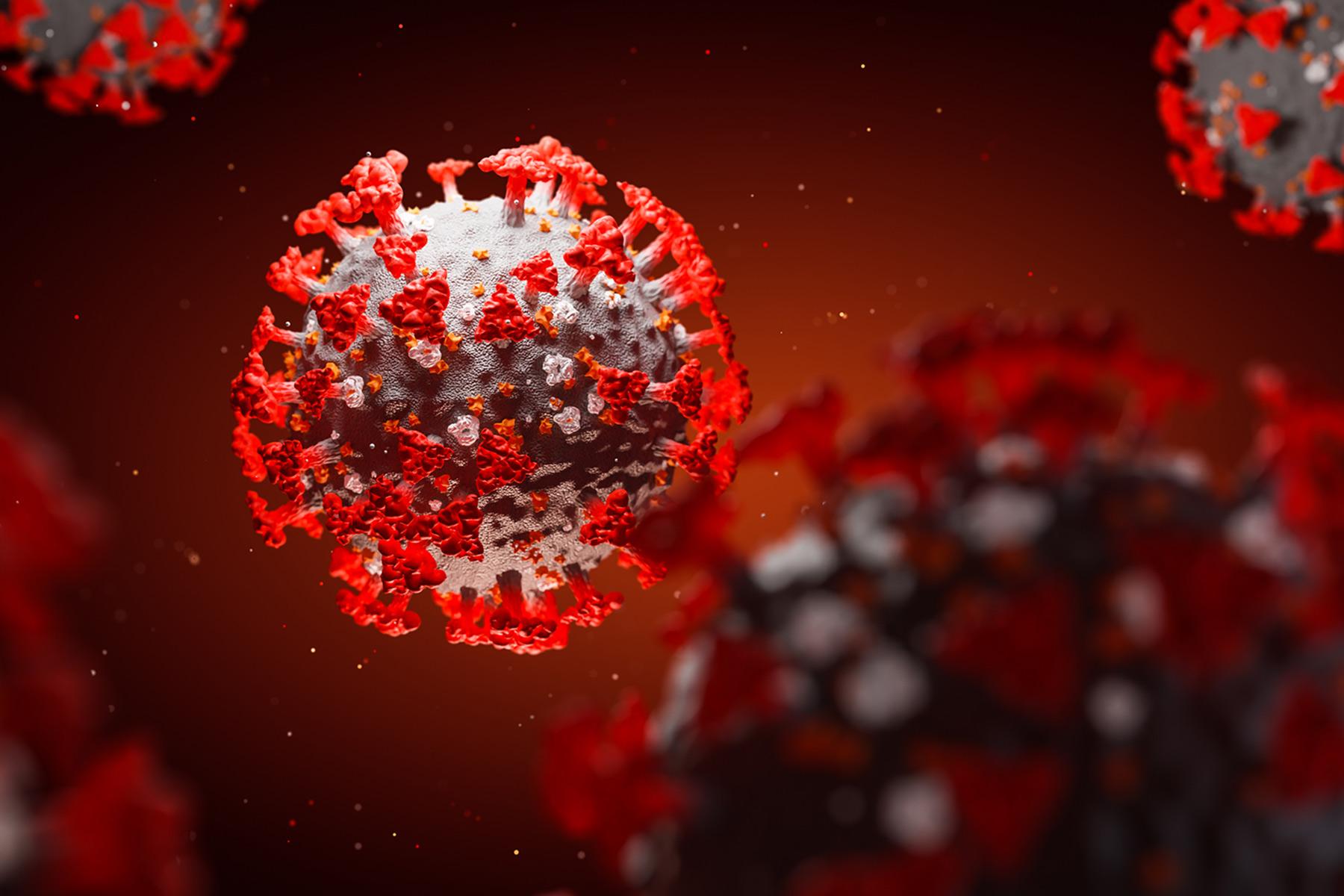photo of covid 19 virus