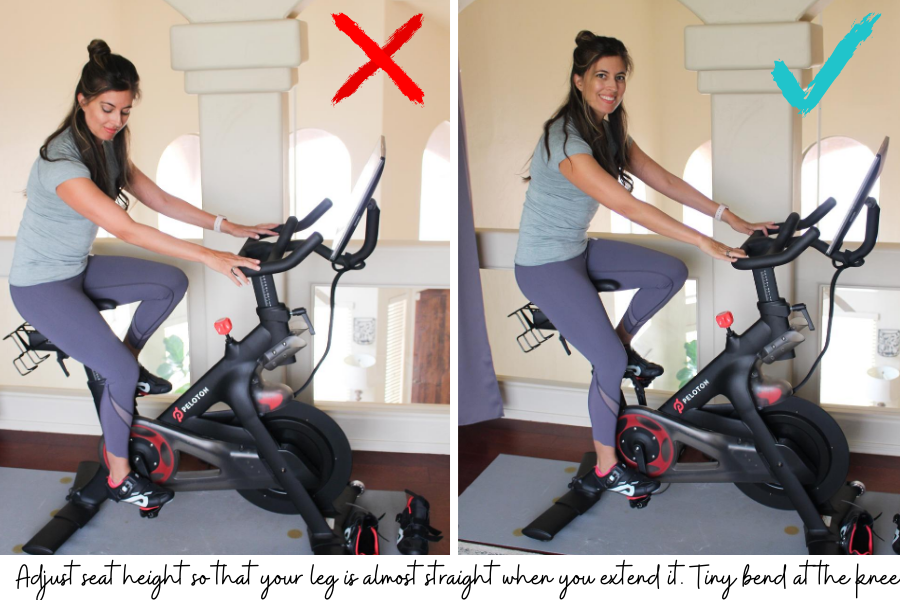 How to set up your Peloton bike or any spin bike. Lots of tips plus a video here. fitnessista.com