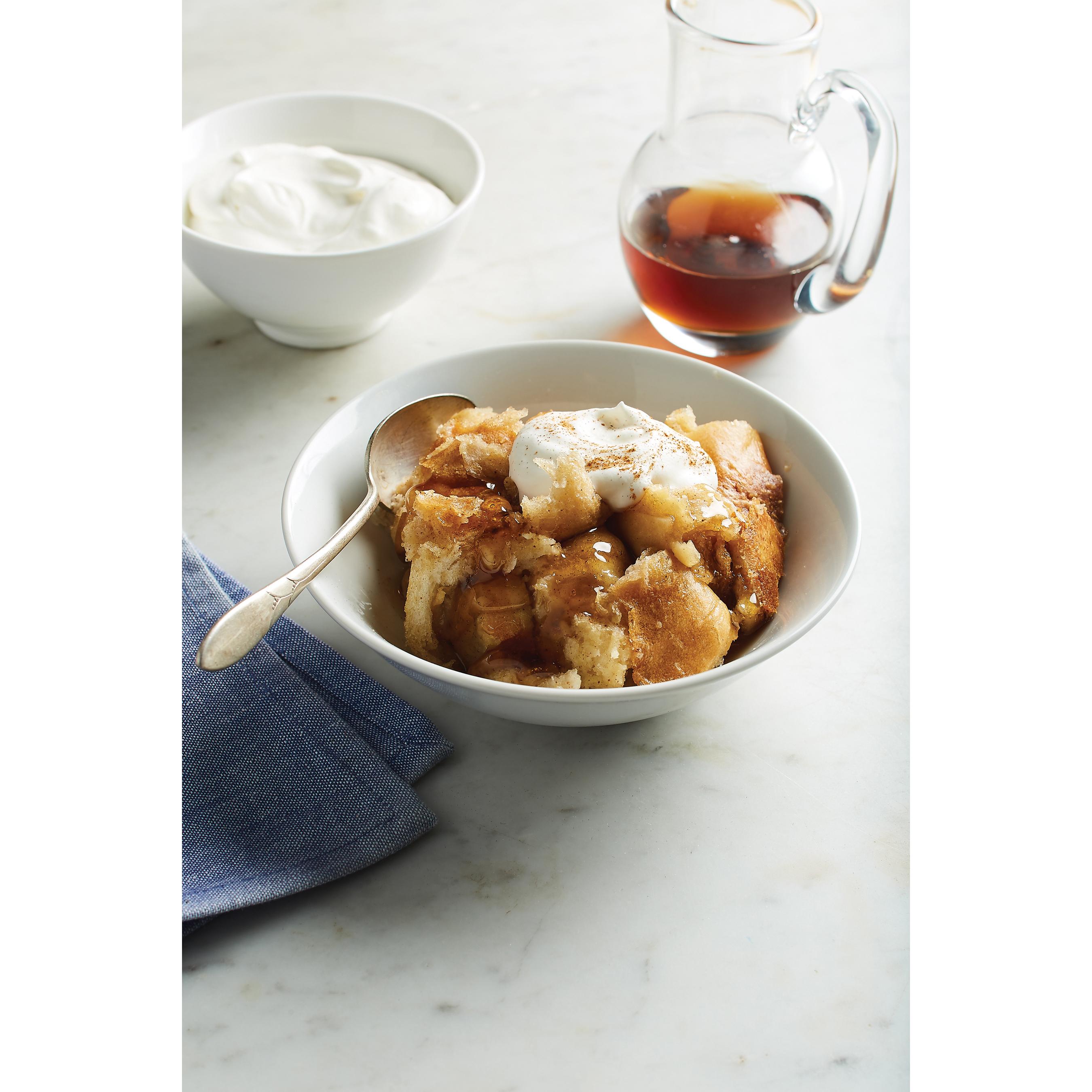 Maple Sweetened French Toast Casserole