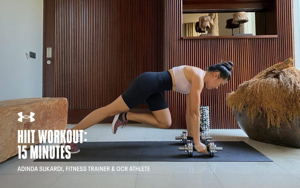 15 Minute HIIT Workout with Adinda Sukardi