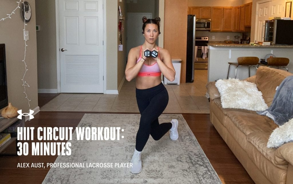 30 Minute HIIT Circuit with Alex Aust