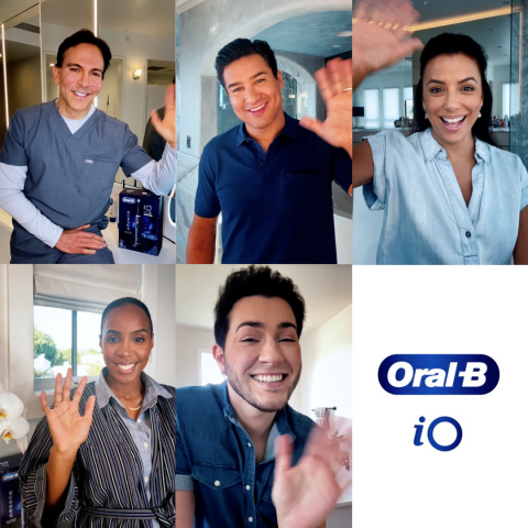 Oral-B is leading the conversation to help people everywhere have access to the right information and tools for optimal at-home oral care by partnering with notable voices and dentists. Eva Longoria, Kelly Rowland, Mario Lopez, and Manny MUA are joining forces with Oral-B to bring awareness to the importance of making oral health a priority. (Photo: Business Wire)