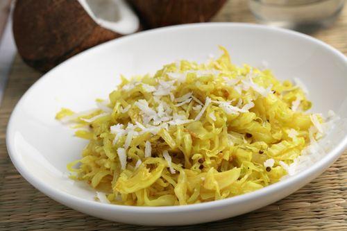 Lemon Garlic Sautéed Cabbage