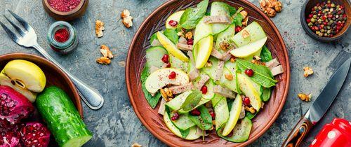 Guava pomegranate salad