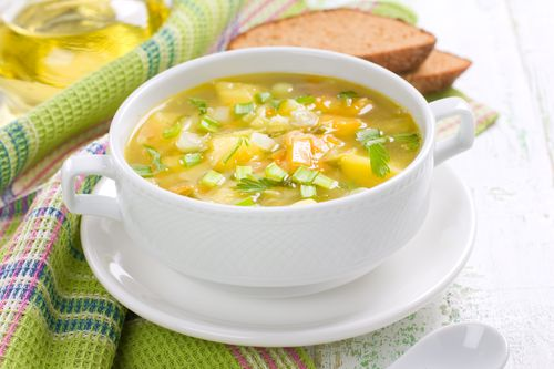 Healthy Cabbage and Chicken Soup