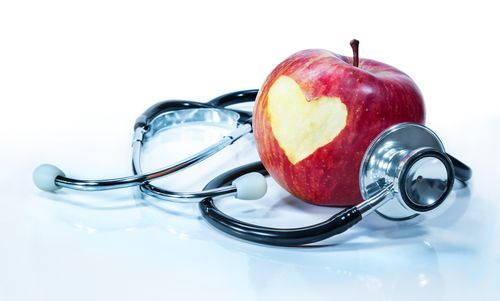 Apples keep the heart healthy