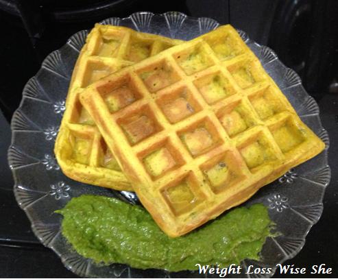 Healthy Savory Waffles-Protein Rich recipe-waffle ready