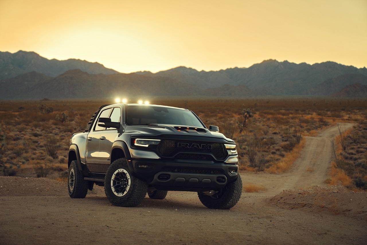 2021 Ram 1500 TRX 2021 truck front 3/4