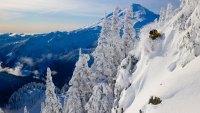 Nelson Gooseman skiing at Mount Baker