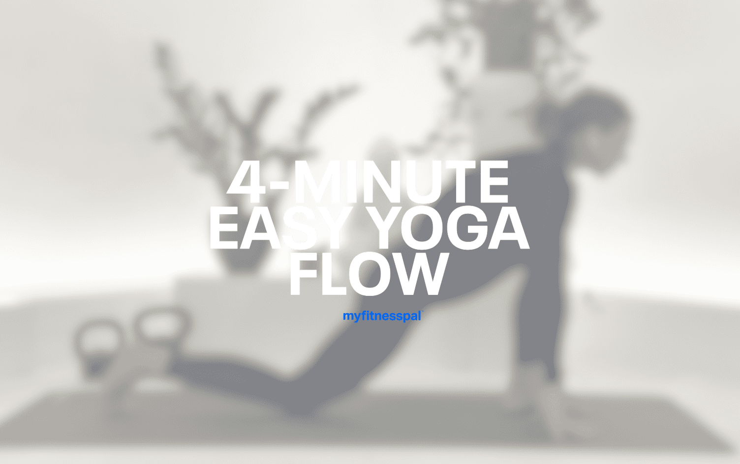4-Minute Easy Yoga Flow for Pre-Workout Warm-Up