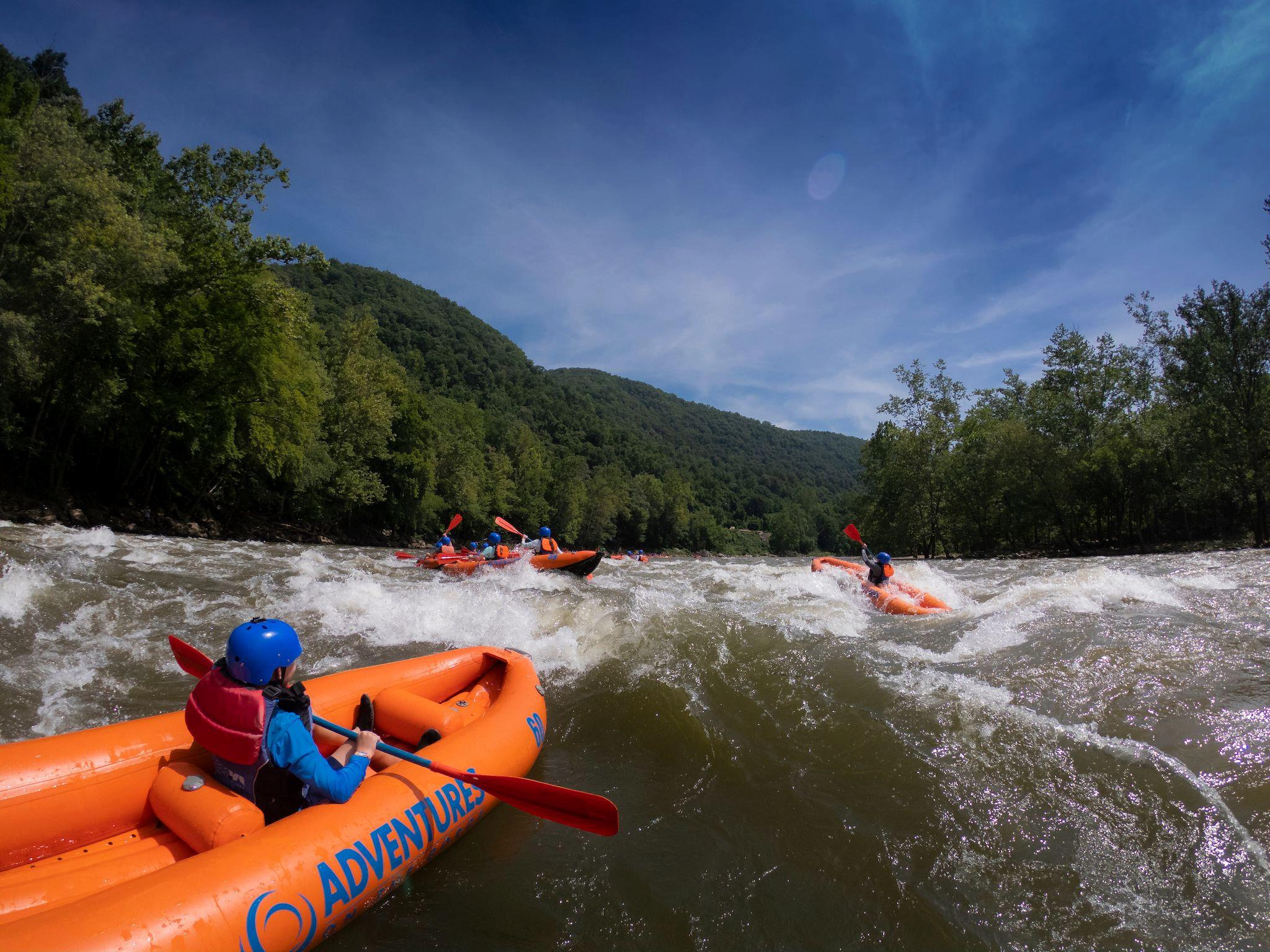 Rafting in New River Gorge National Park