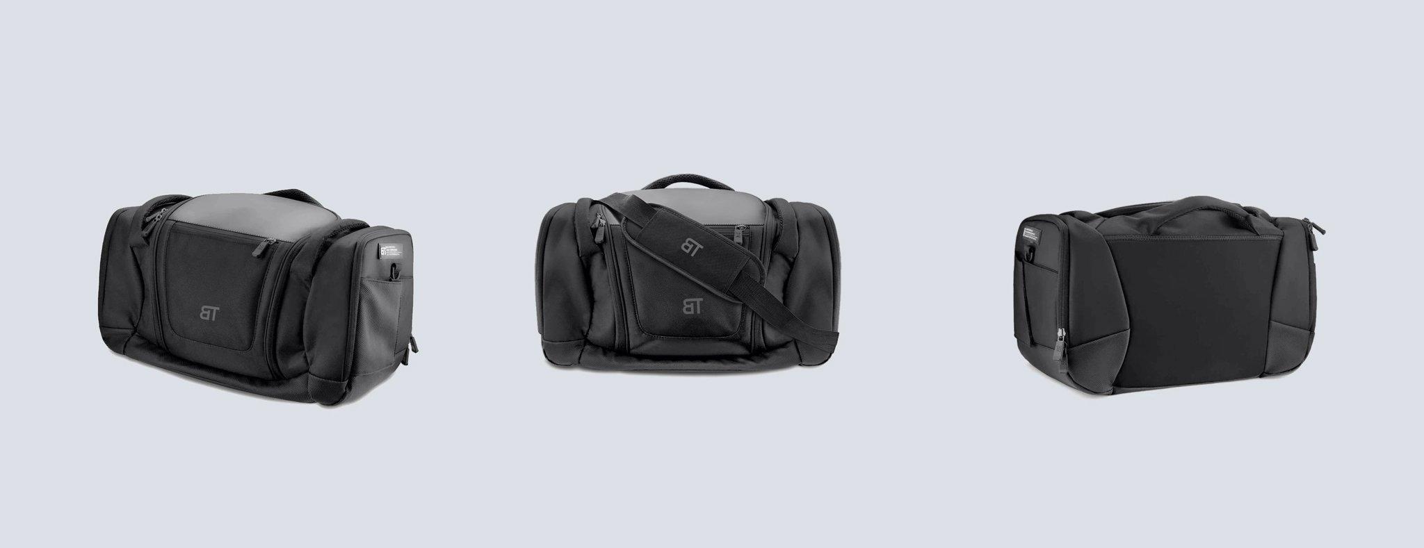 Born Tough Crucial Duffel Bag Black