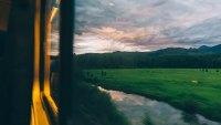 adventure on a train