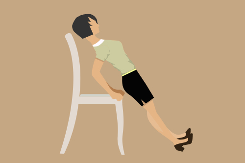 chair plank