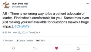 A tweet from @MustStopMS