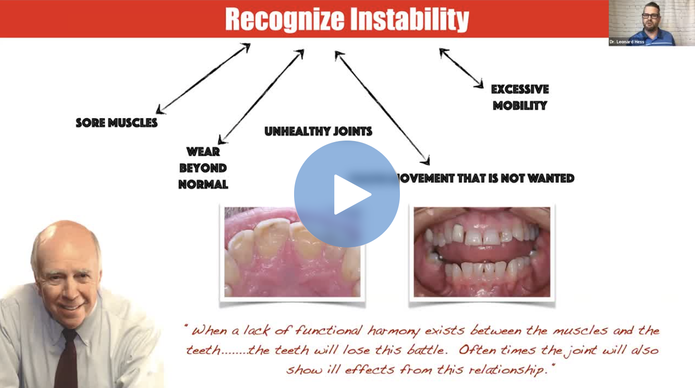TMJ TMD Patients Dental CE Webinar