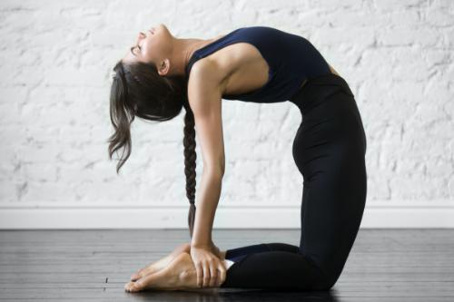Ustrasana - Yoga for abs